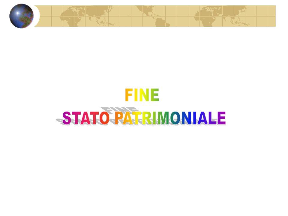 FINE STATO PATRIMONIALE