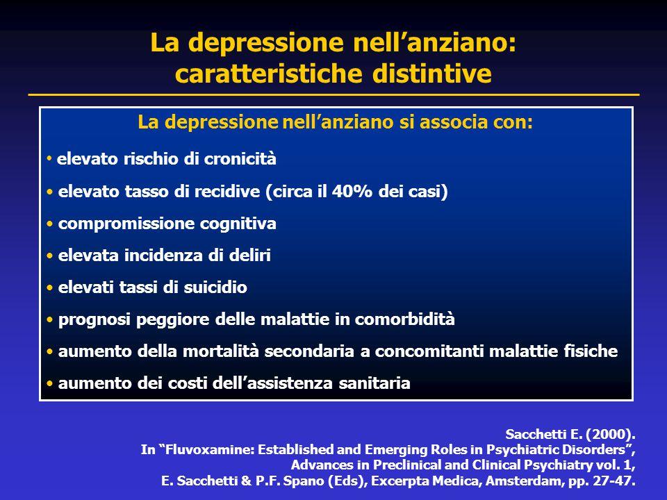 La depressione nell'anziano: caratteristiche distintive