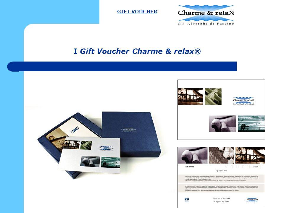 I Gift Voucher Charme & relax®