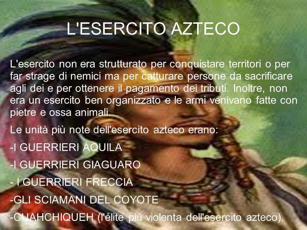 L ESERCITO AZTECO