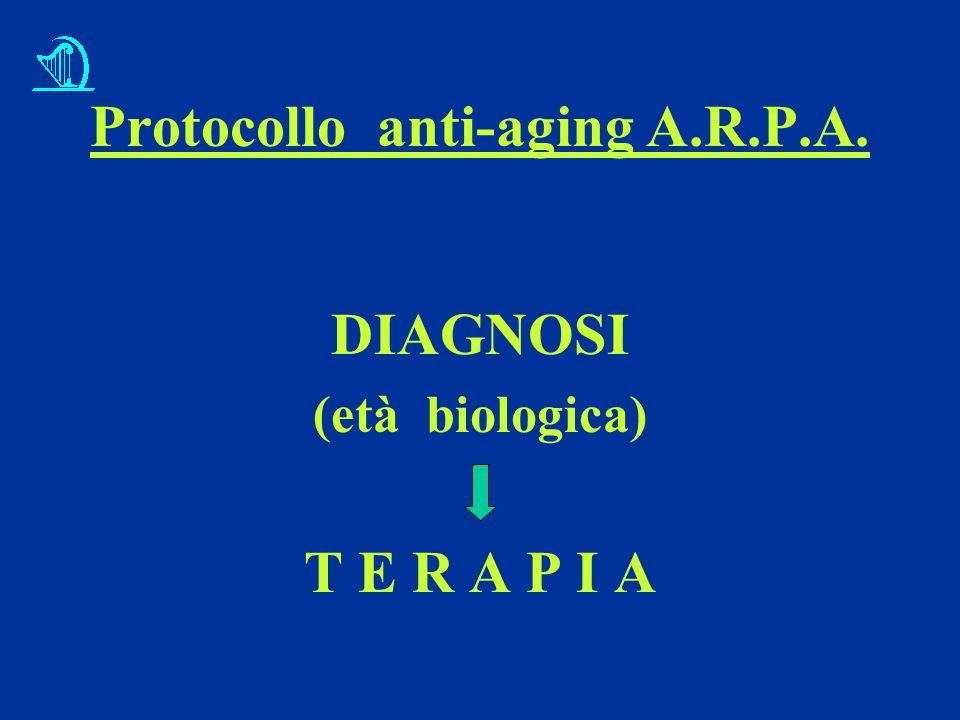 Protocollo anti-aging A.R.P.A.