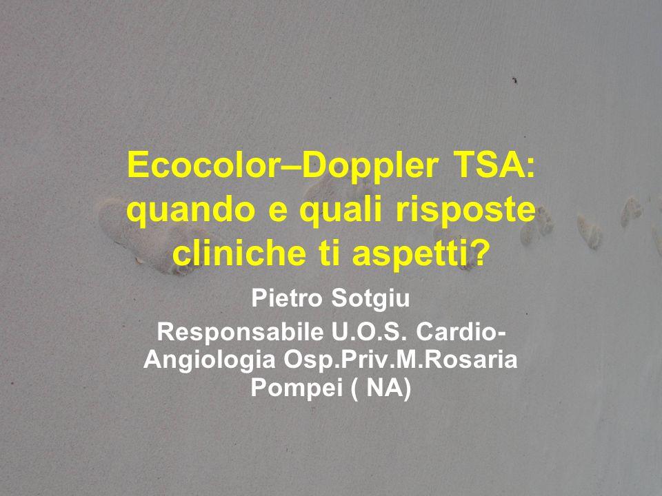 Ecocolor–Doppler TSA: quando e quali risposte cliniche ti aspetti