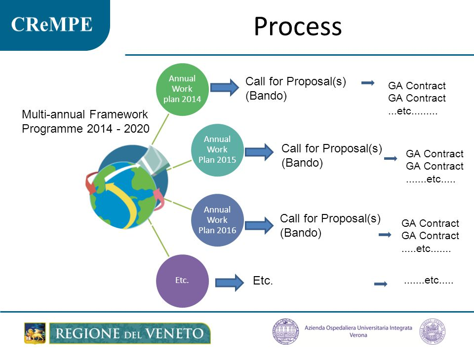 Process Call for Proposal(s) (Bando)