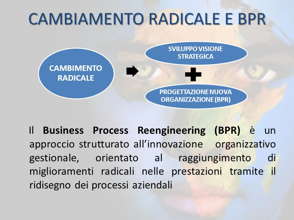 CAMBIAMENTO RADICALE E BPR
