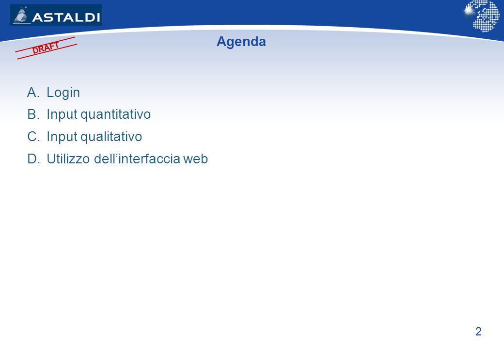 Utilizzo dell'interfaccia web