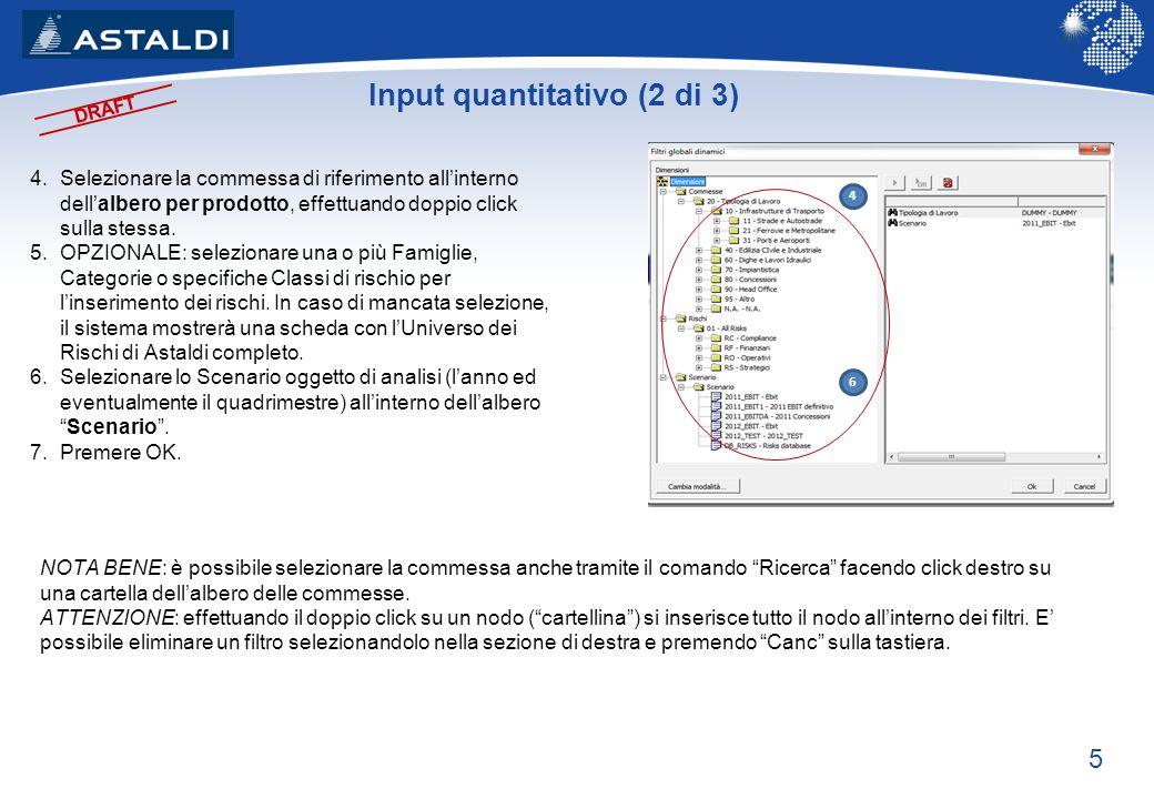 Input quantitativo (2 di 3)