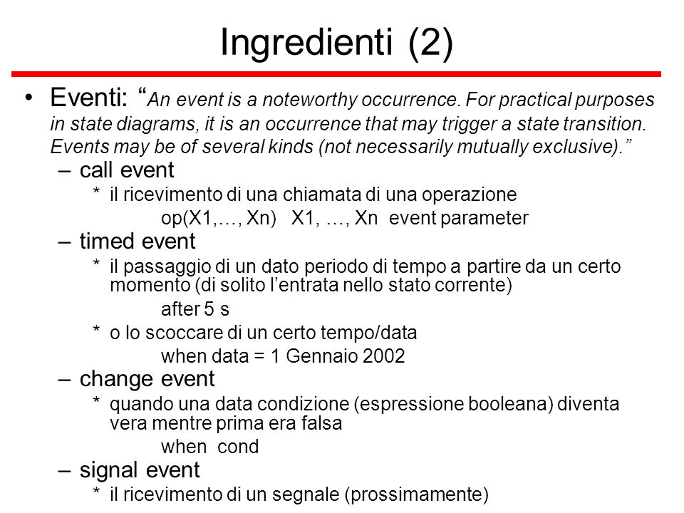 Ingredienti (2)