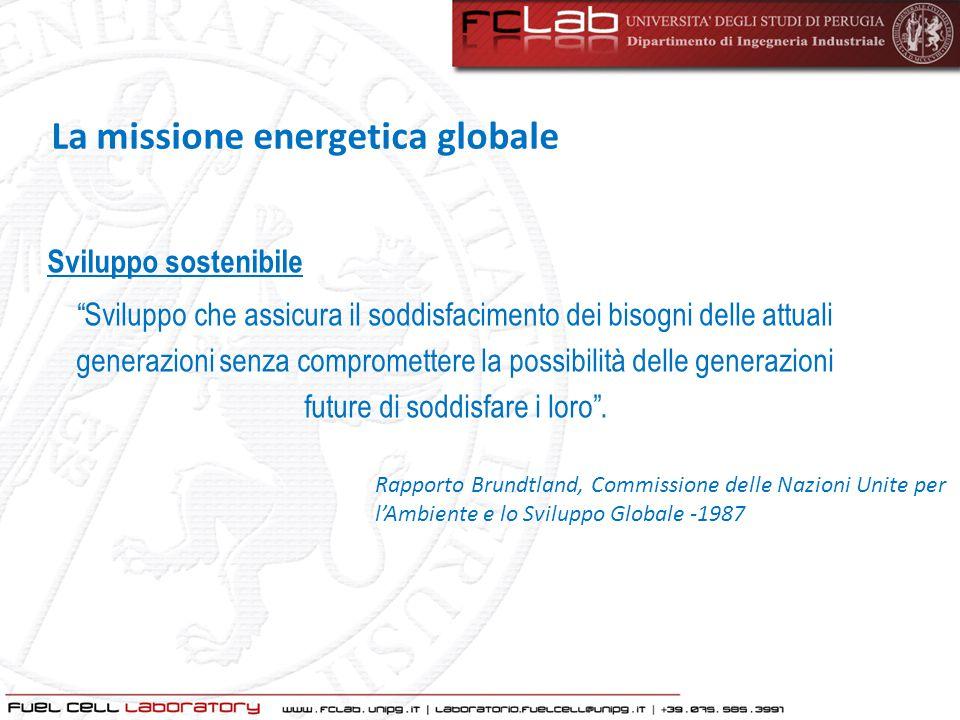 La missione energetica globale