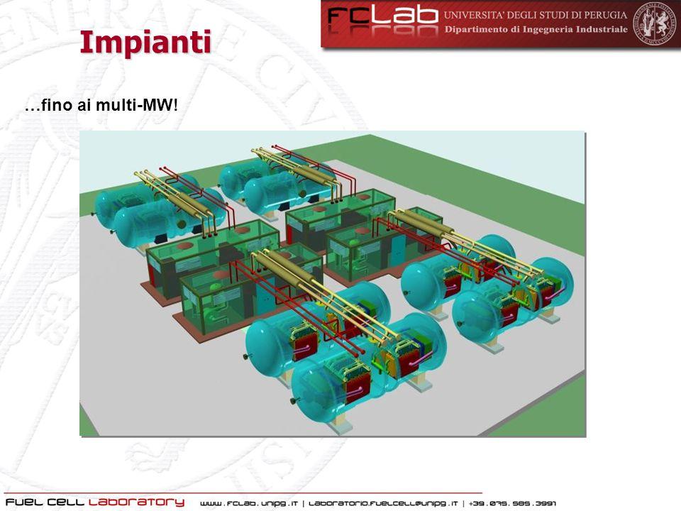 Impianti …fino ai multi-MW!