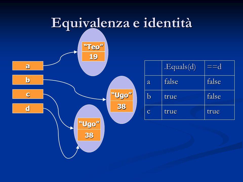 Equivalenza e identità