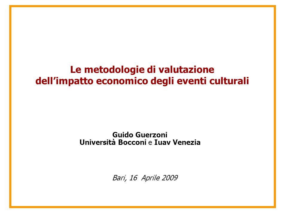 Università Bocconi e Iuav Venezia