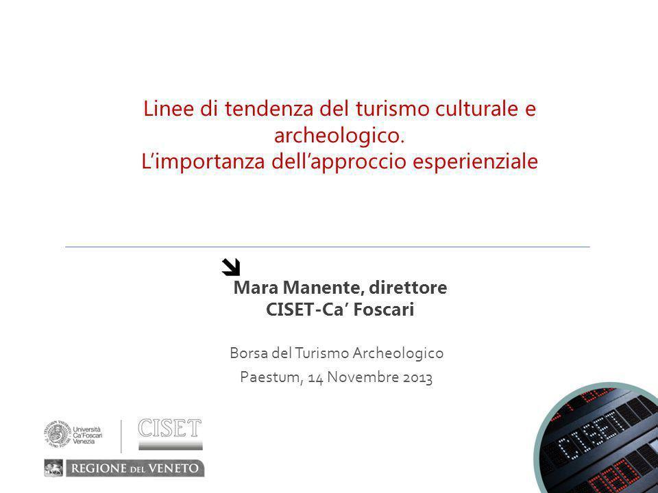 Mara Manente, direttore CISET-Ca' Foscari