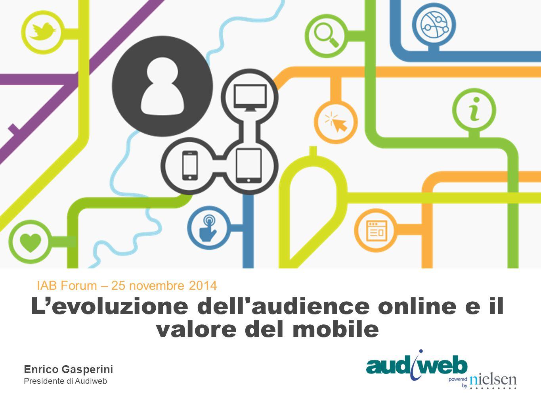 L'evoluzione dell audience online e il valore del mobile