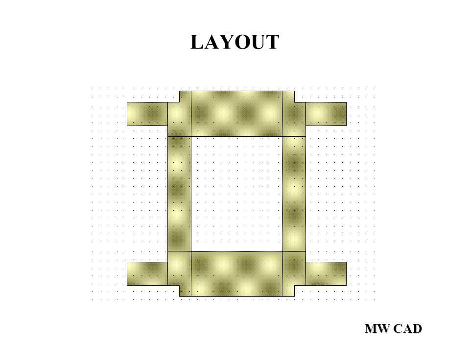 LAYOUT MW CAD