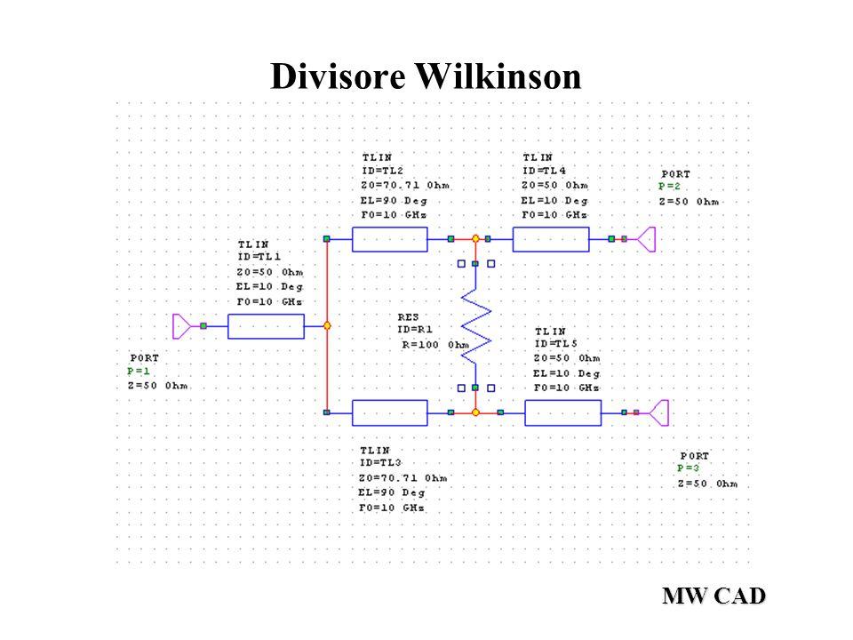 Divisore Wilkinson MW CAD