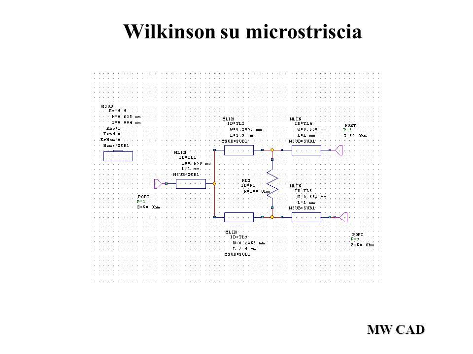 Wilkinson su microstriscia