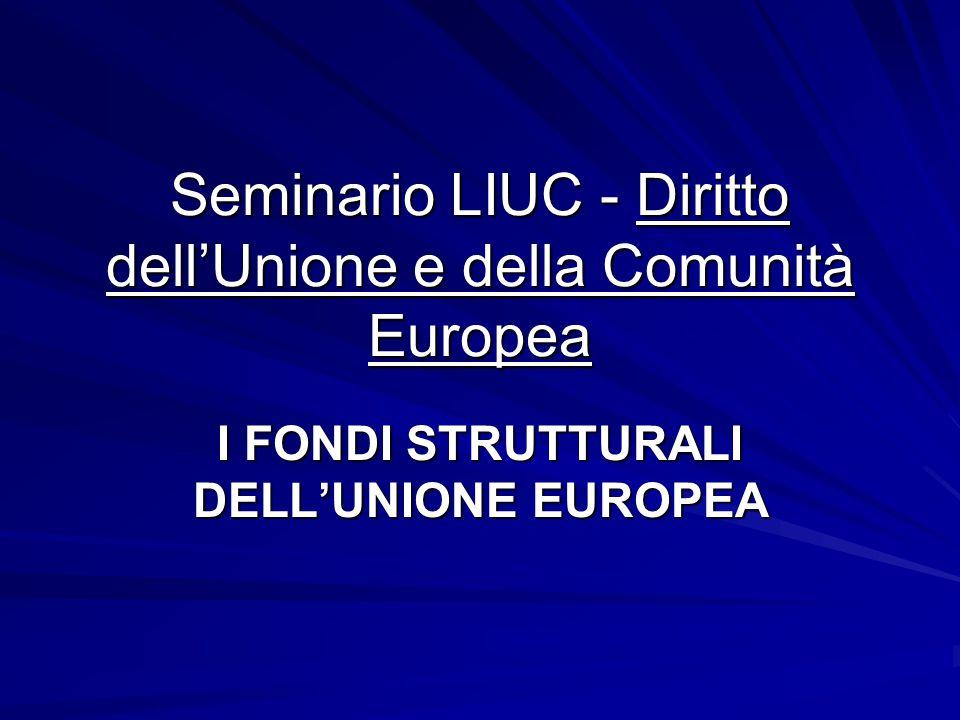 Seminario LIUC - Diritto dell'Unione e della Comunità Europea