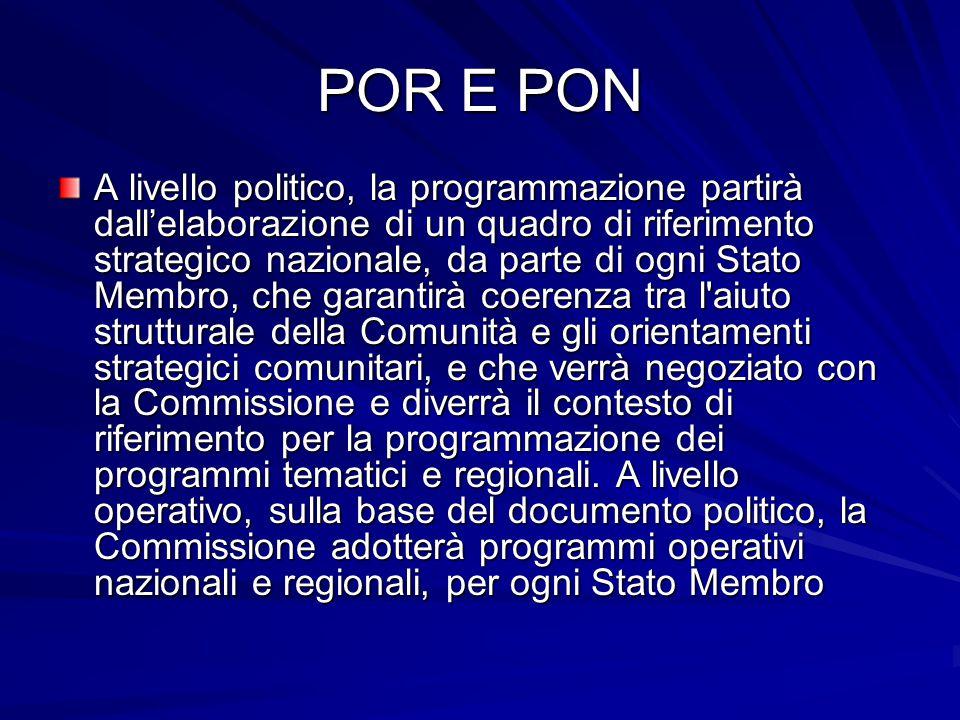 POR E PON