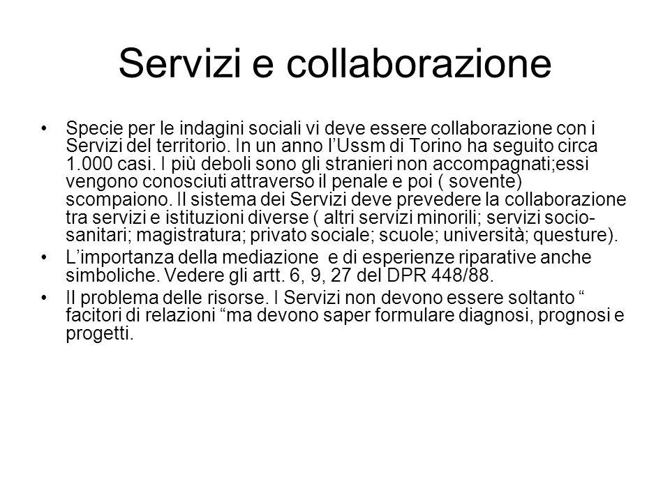 Servizi e collaborazione