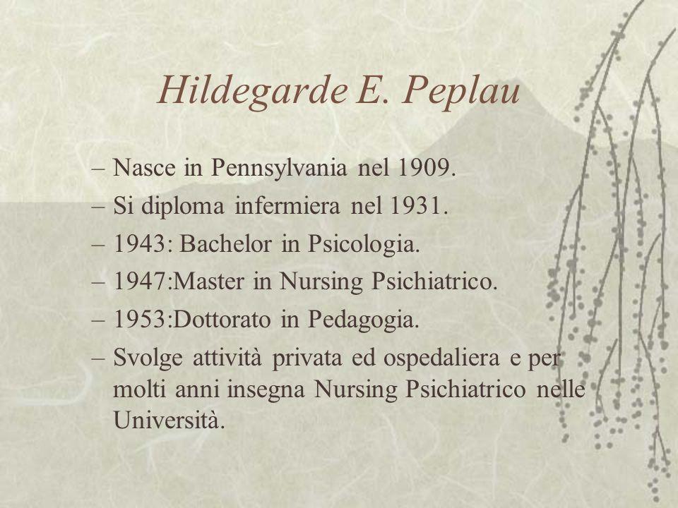 Hildegarde E. Peplau Nasce in Pennsylvania nel 1909.