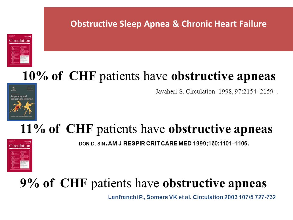 Obstructive Sleep Apnea & Chronic Heart Failure