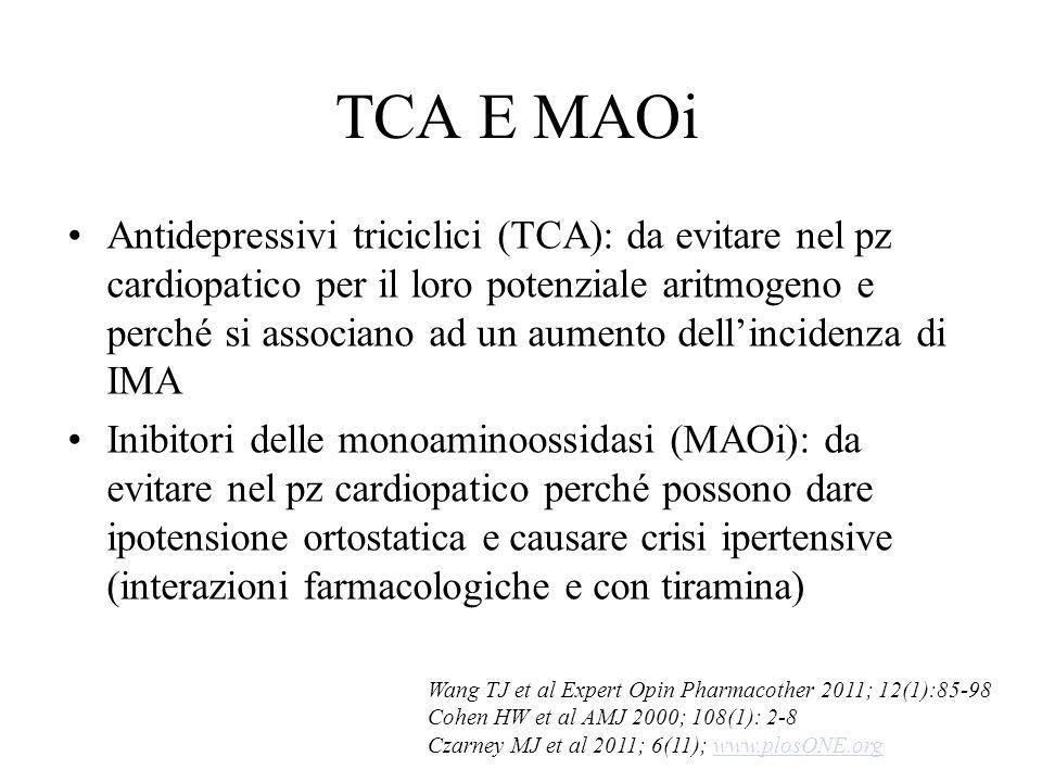 TCA E MAOi