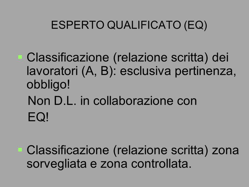 ESPERTO QUALIFICATO (EQ)