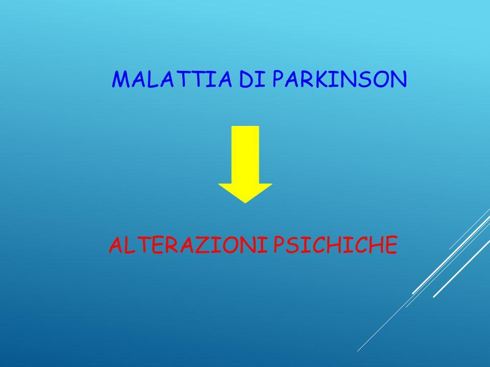 ALTERAZIONI PSICHICHE