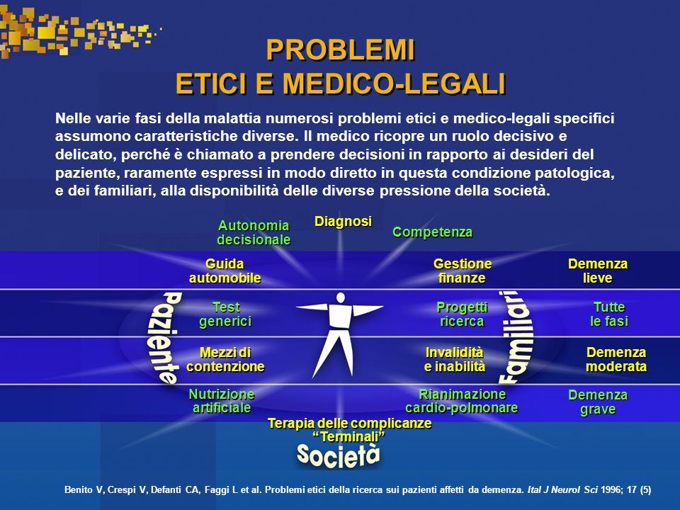 PROBLEMI ETICI E MEDICO-LEGALI