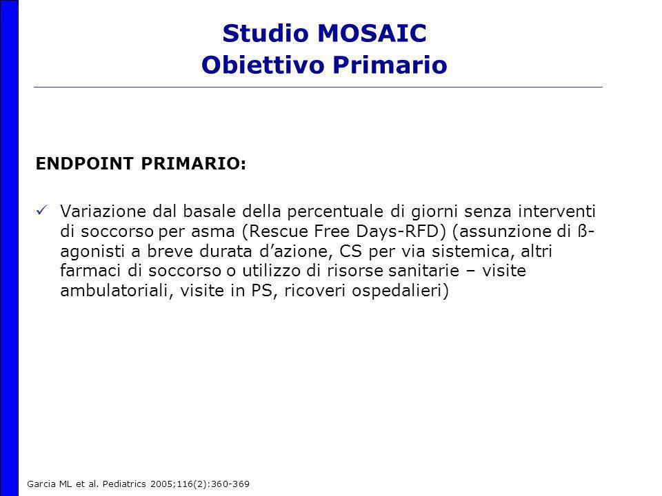 Studio MOSAIC Obiettivo Primario