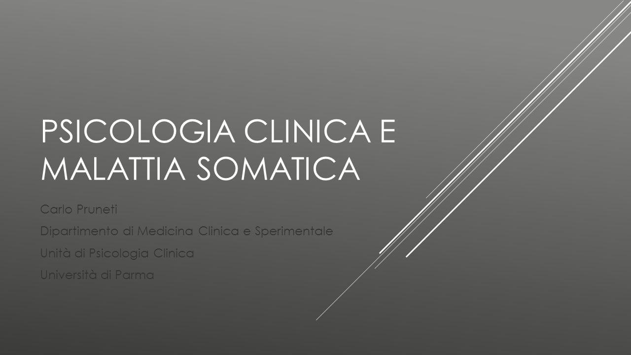 Psicologia clinica e malattia somatica