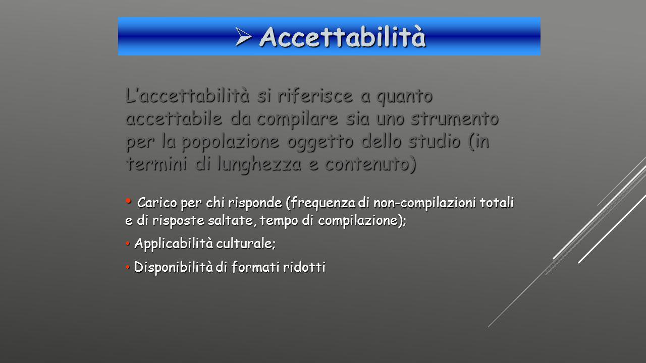 Accettabilità