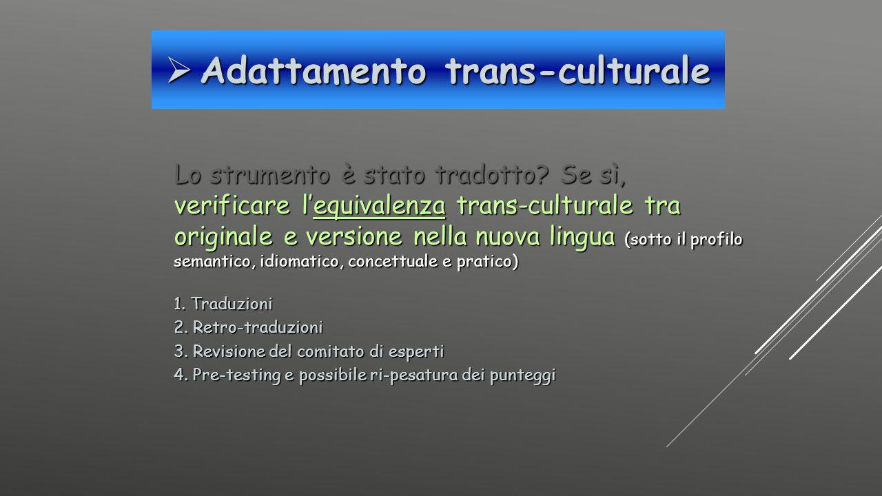 Adattamento trans-culturale