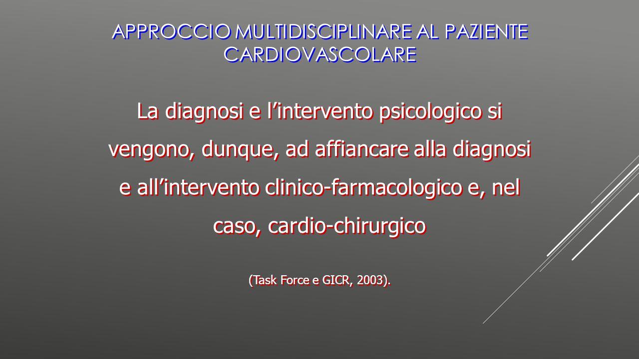 Approccio multidisciplinare al paziente cardiovascolare