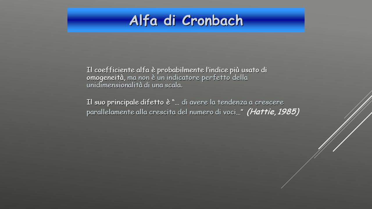 Alfa di Cronbach