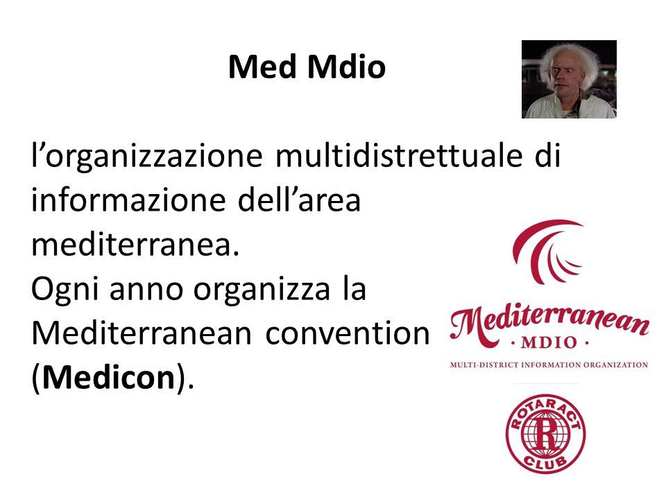 Med Mdio l'organizzazione multidistrettuale di informazione dell'area mediterranea.