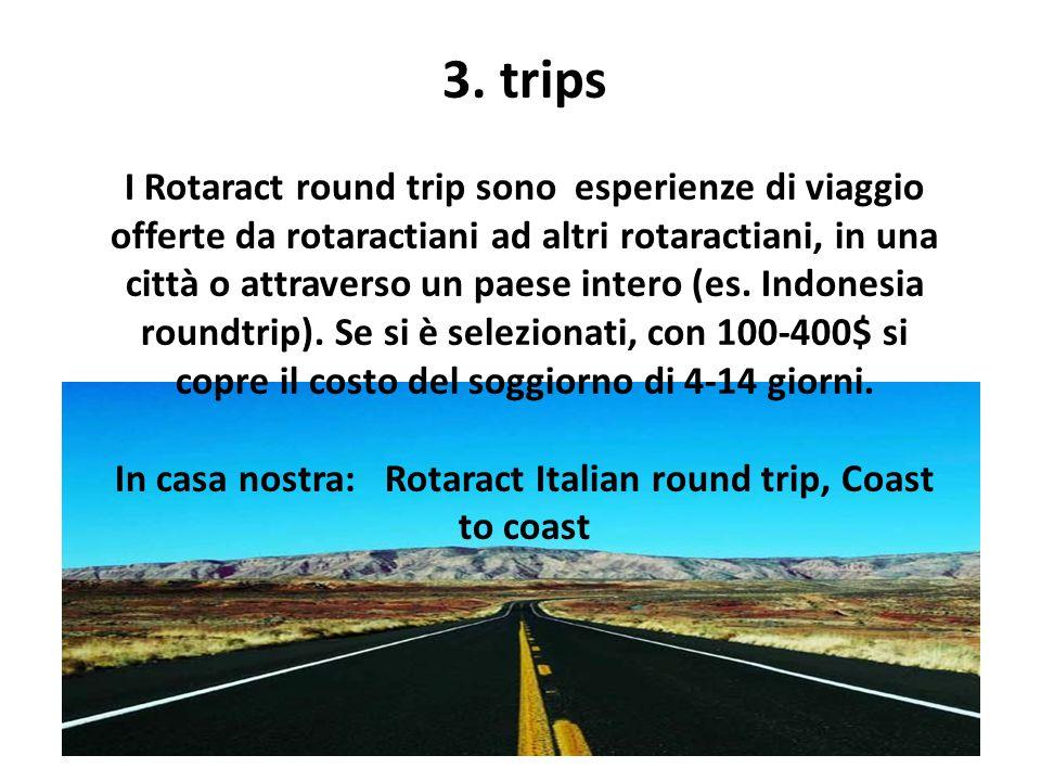 In casa nostra: Rotaract Italian round trip, Coast to coast