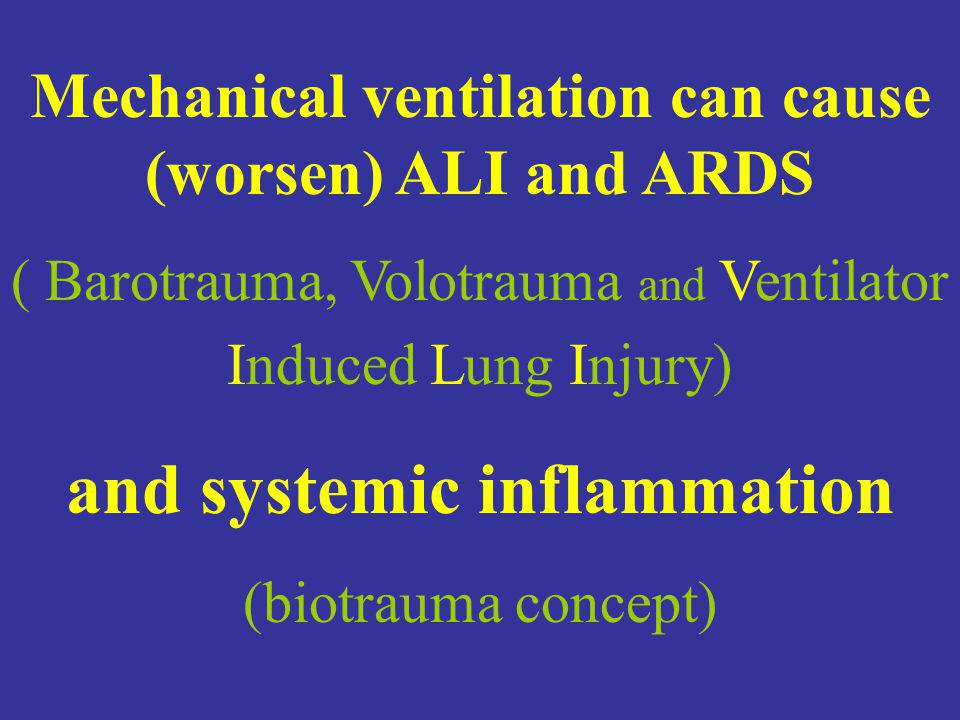 and systemic inflammation