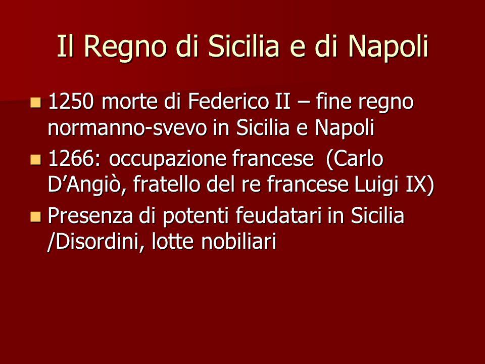 Il Regno di Sicilia e di Napoli