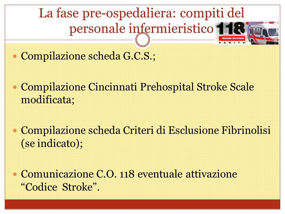 La fase pre-ospedaliera: compiti del personale infermieristico