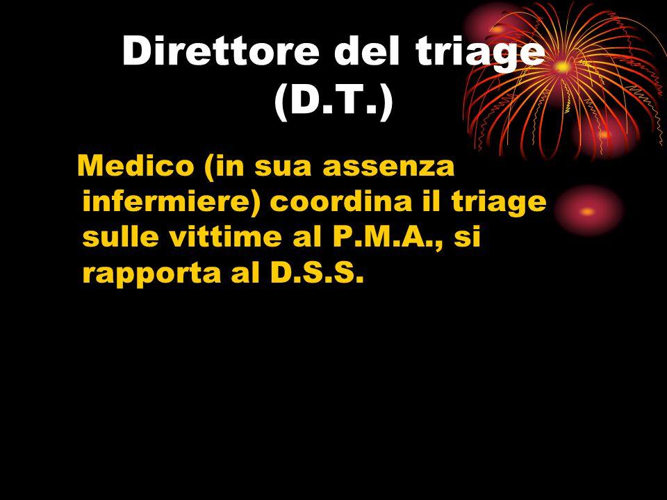 Direttore del triage (D.T.)