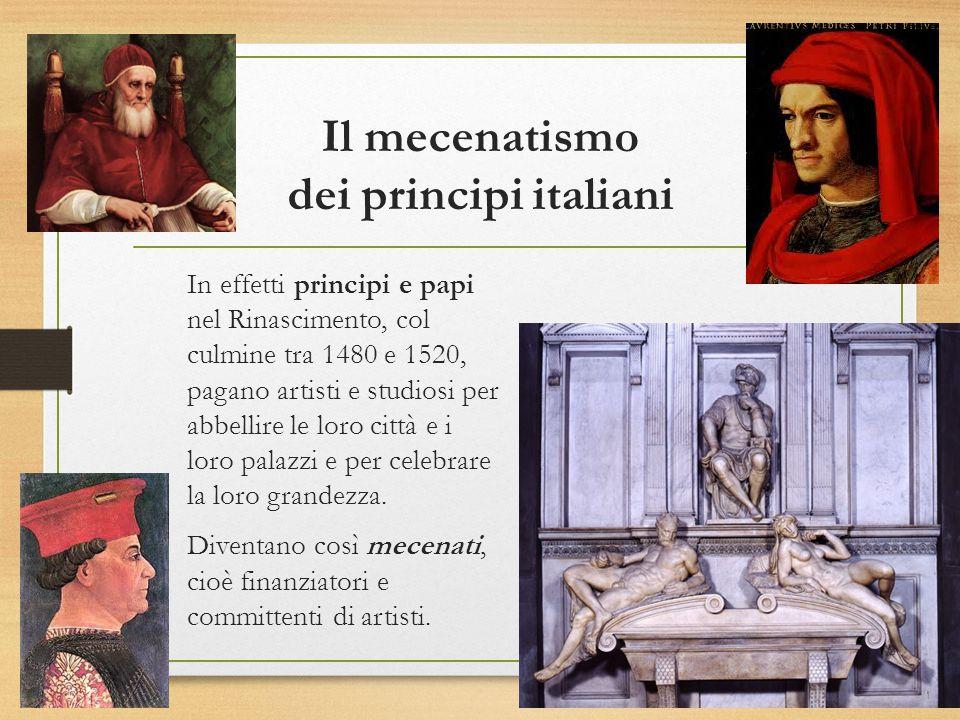 Il mecenatismo dei principi italiani