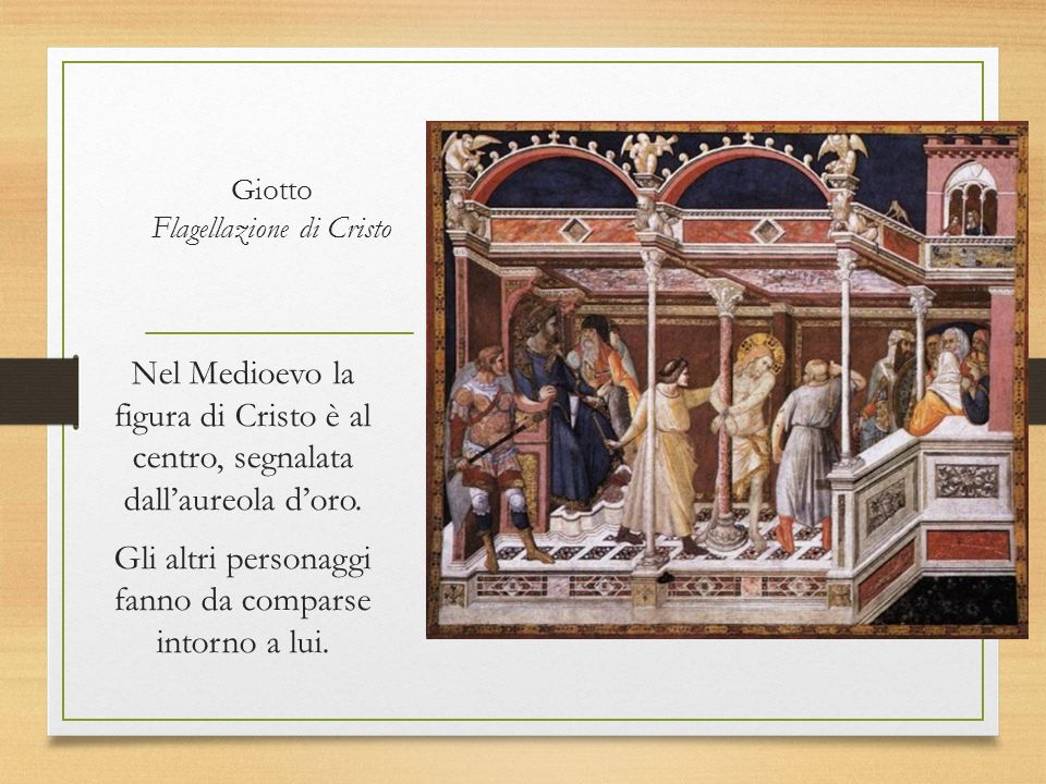 Giotto Flagellazione di Cristo