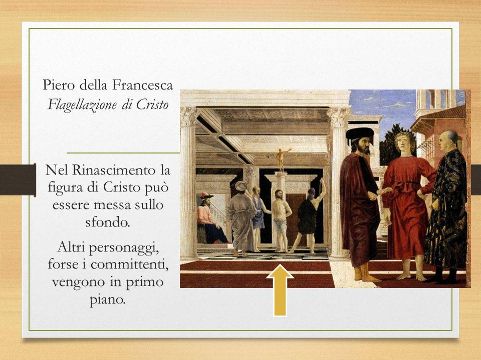 Piero della Francesca Flagellazione di Cristo