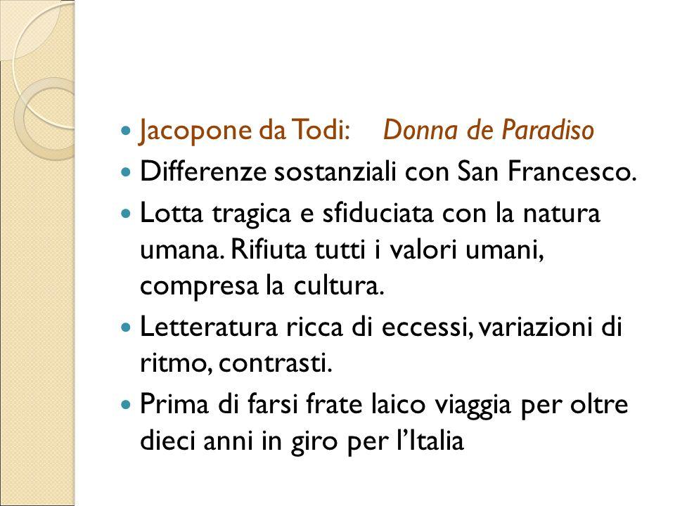 Jacopone da Todi: Donna de Paradiso