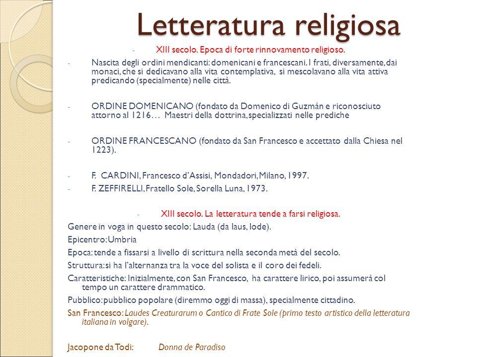 Letteratura religiosa
