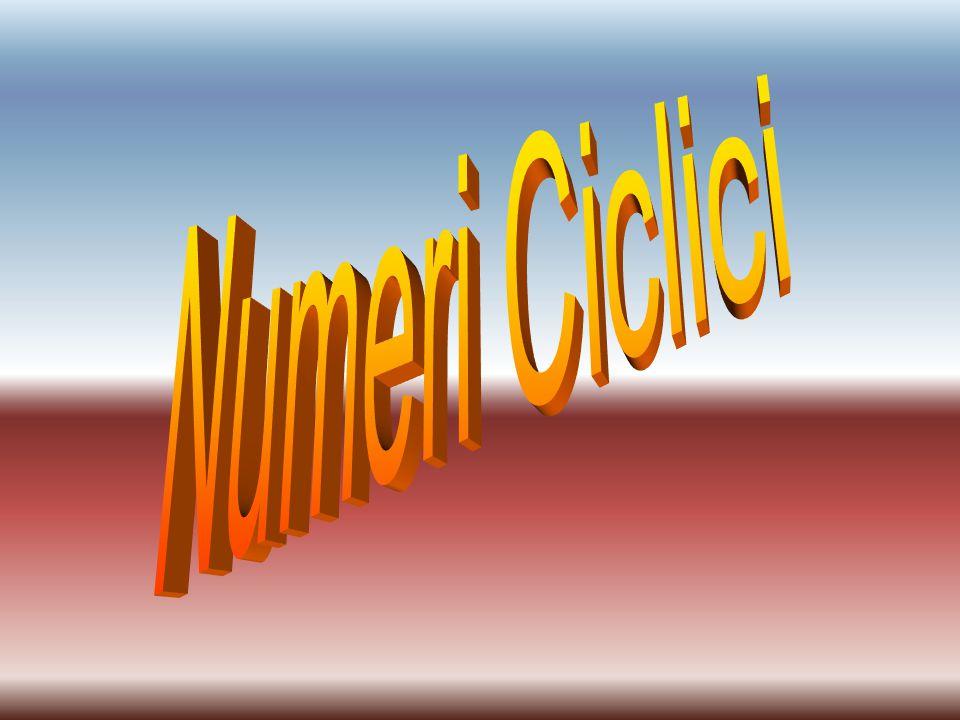 Numeri Ciclici