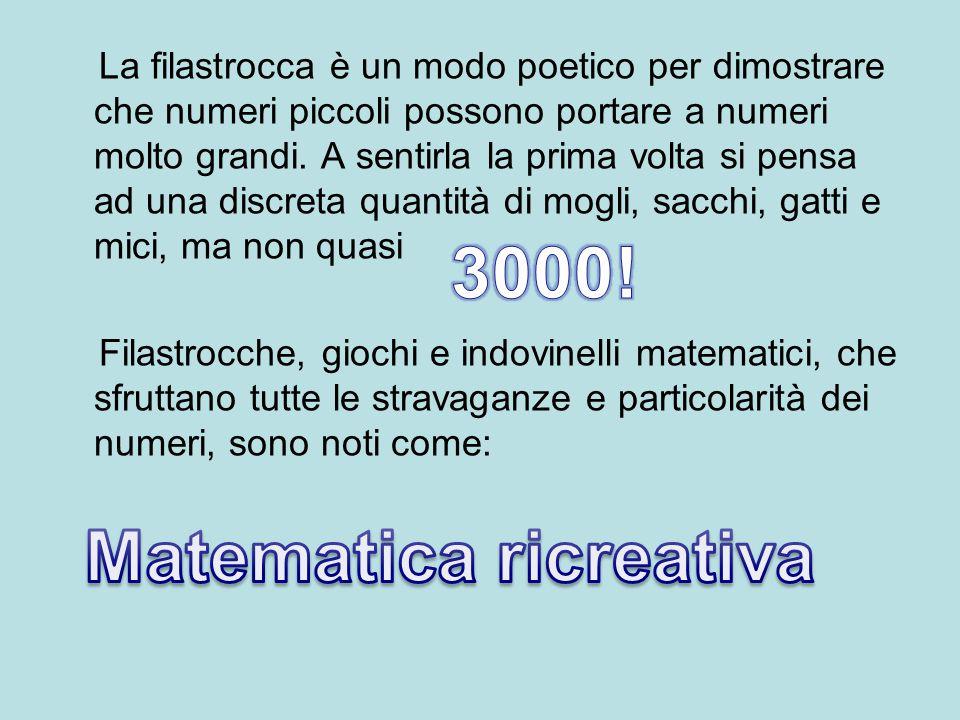 Matematica ricreativa