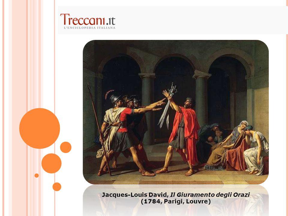 Jacques-Louis David, Il Giuramento degli Orazi