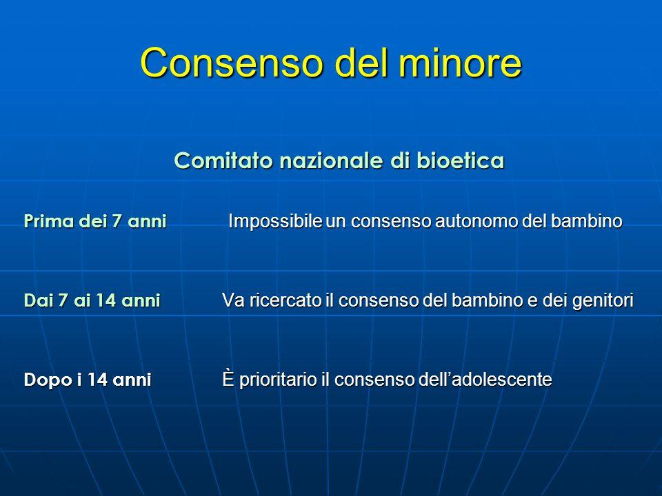 Comitato nazionale di bioetica